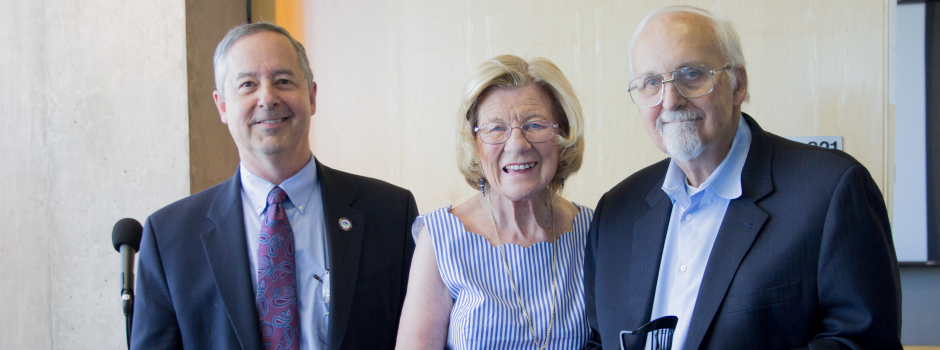 Harrison H. and Catherine C. Barrett Establish Endowed Chair