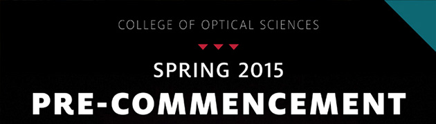 OSC Spring 2015 Pre-Commencement banner