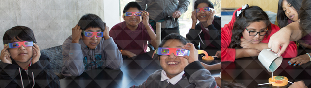 Tohono O'odham students from San Simon Visit the College of Optical Sciences