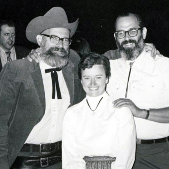Lon Wheeler with Pam and Roland Shack
