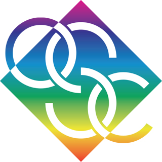 OSC Rainbow Diamond Logo