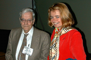 Nico Bloembergen and Galina Khitrova in 1999