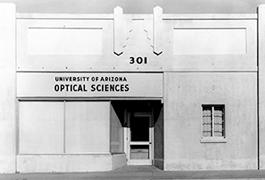 History of the Optical Sciences Center in Tucson