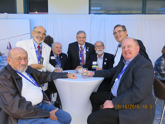 Optics Researchers gather at the OSA Anniversary Party in Rochester NY