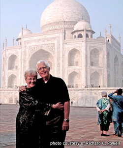 Richard and Gwen Powell Visiting India