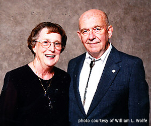 OSC Reflections - William L. Wolfe and wife, Mary Lou, 1990.