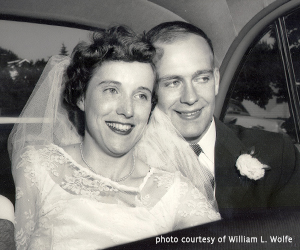 OSC Reflections - William L. Wolfe Marries Mary Lou Bongort