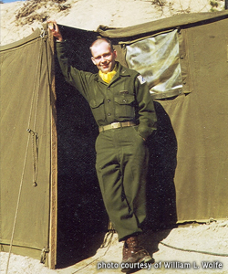 OSC Reflections - William L. Wolfe - Army Tent