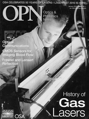 Professor Emeritus Stephen F. Jacobs on the cover of OPN Magazine